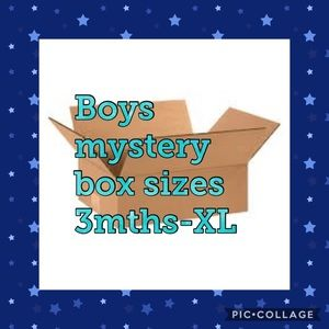 Other - Select a size boys mystery box!!